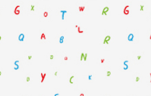 Illustations for ABC letters