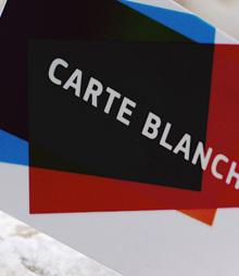 identity for Carte Blanche
